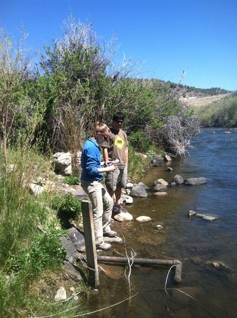 Walker River Temperature Modeling Aquatic Ecosystems